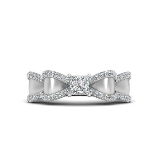 CLASSIC DIAMOND BOW RING