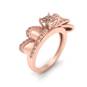 Bow Wedding Ring