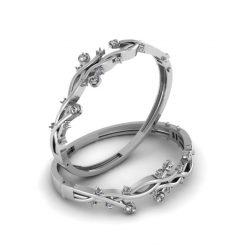 DIAMOND GOTHIC SKULL BRACELET