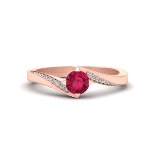 Gorgeous Ruby Engagement Ring