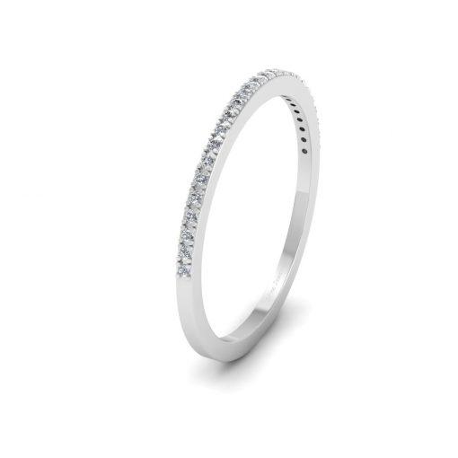 0.20CTTW DIAMOND WEDDING BAND