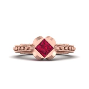 Pretty Princess Aurora Inspired Engagement Ring