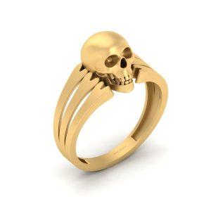 Dark Fantasy Horror Theme Gothic Skull Ring
