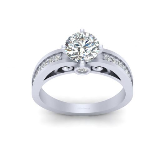 DIAMOND FILIGREE WEDDING RING