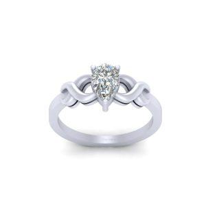 Classic Solitaire Diamond Bridal Wedding Ring