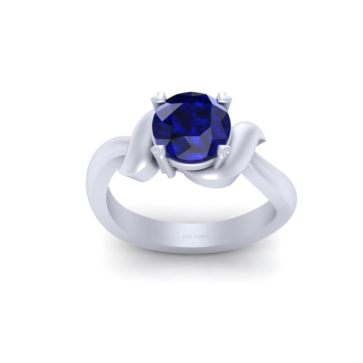 Droid Robot R2D2 Inspired Engagement Ring