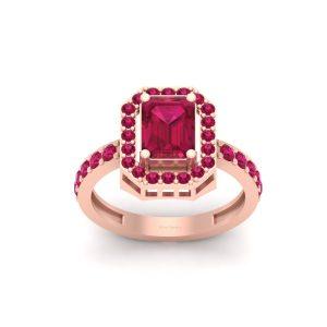 Princess Aurora Inspired Engagement Ring Womens