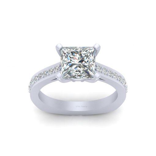 EUROPEAN SHANK WEDDING RING