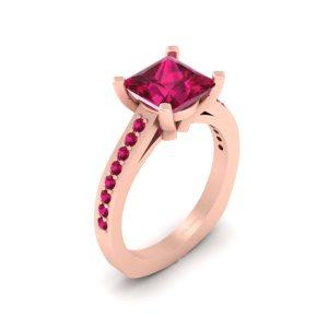 Sleeping Beauty Princess Aurora Inspired Bridal Ring