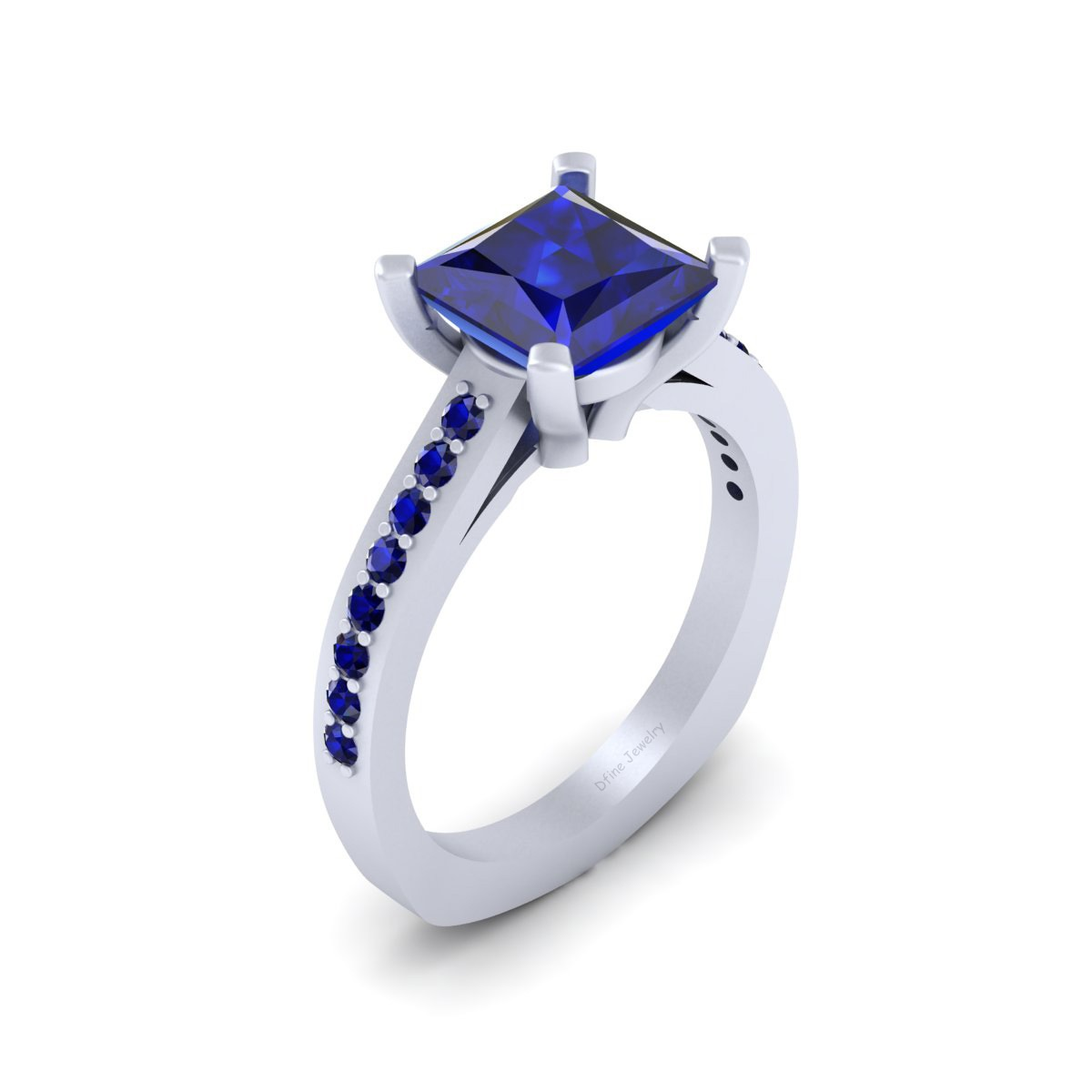 Robot Droid R2D2 Inspired Engagement Ring