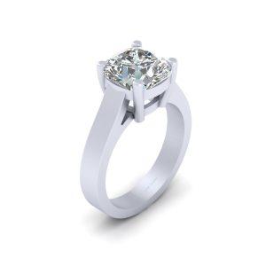 Solitaire Diamond Bridal Wedding Ring Jewelry