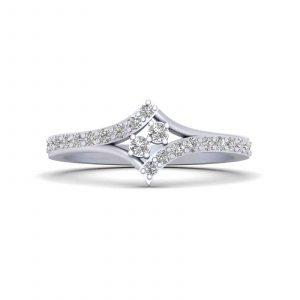 Classic Diamond Dainty Promise Ring