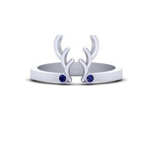 Deer Antler Horn Ring