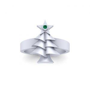 Star Of Bethlehem Christmas Ring