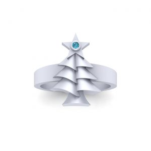 Star Of Bethlehem Christmas Ring