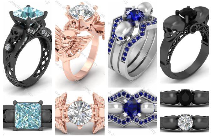 5 best skull rings for women..