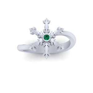 Symbol Of Purity Snowflake Ring