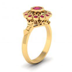 SPOOKY GOTHIC WEDDING RING