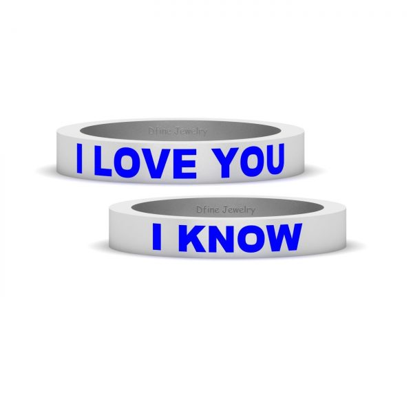 Star Wars Couple Rings