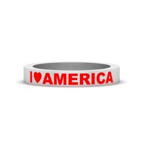 I LOVE AMERICA RING JEWELRY