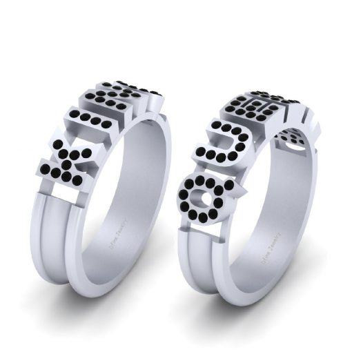 KING AND QUEEN WEDDING SET