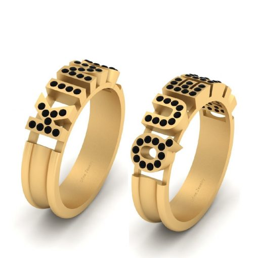 KING AND QUEEN PROMISE RINGS
