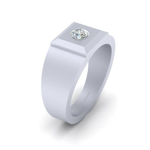 UNISEX DIAMOND WEDDING RING