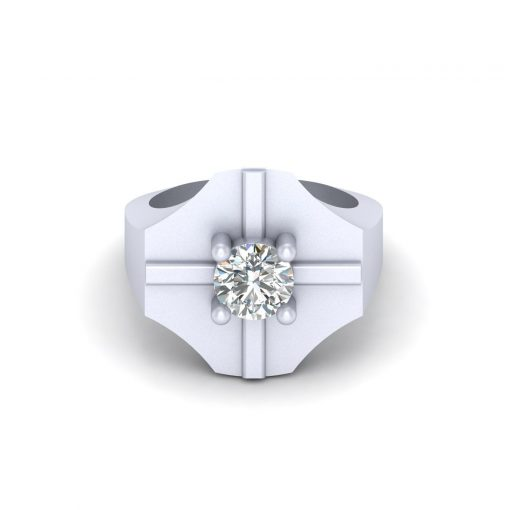 SOLITAIRE 1.10CT DIAMOND WEDDING RING
