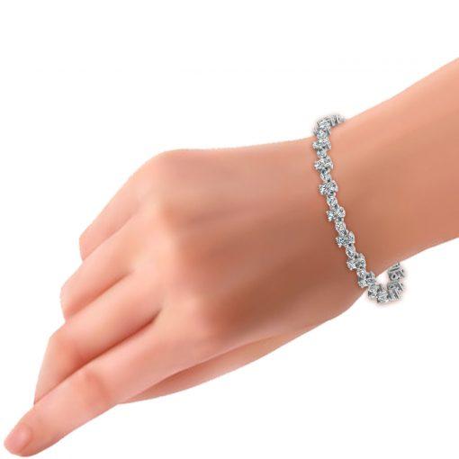 MARQUISE NATURAL DIAMOND BRACELET