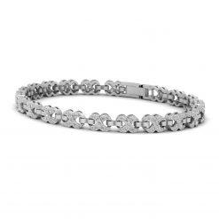 DIAMOND INFINITY TENNIS BRACELET