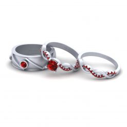 ENTWINED ENGAGEMENT RING BAND SET