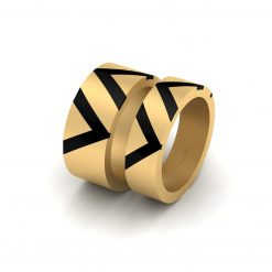 GOLD COUPLE WEDDING BANDS