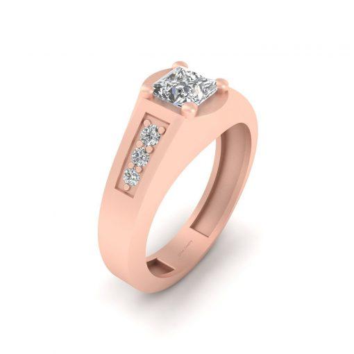 PRINCESS DIAMOND ENGAGEMENT RING