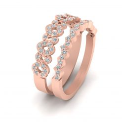 DIAMOND ENTWINED ENGAGEMENT RING
