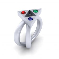 ZELDA TRIFORCE RING WOMENS