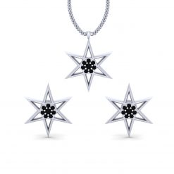 DELICATE STAR PENDANT SET