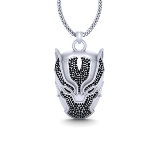 BLACK PANTHER INSPIRED PENDANT