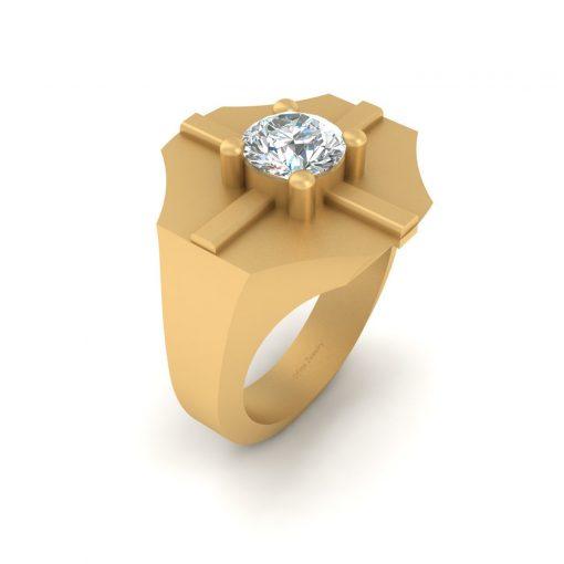 1.10CT MOISSANITE WEDDING RING