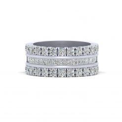 2.30CTTW DIAMOND WEDDING BAND