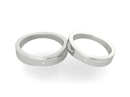 MATCHING WEDDING BAND SET HIS AND HERS