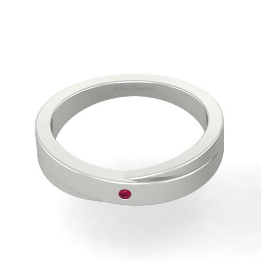 GOLD WEDDING BAND FOR HIM