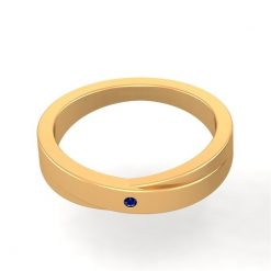 GOLD WEDDING BAND FOR MENS
