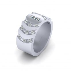 0.75cttw DIAMOND BAND FOR HER