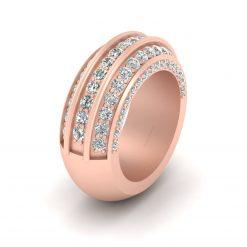 1.85CTTW DIAMOND WEDDING BAND