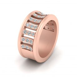 DIAMOND ENGAGEMENT BAND FOR HER