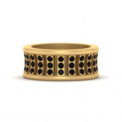 GOLD WEDDING BAND FOR HER
