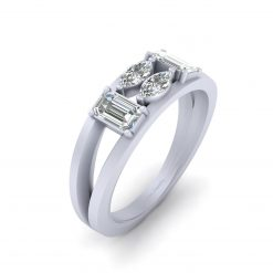 0.60CTTW DIAMOND ENGAGEMENT RING