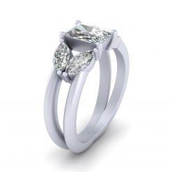 RADIANT DIAMOND PROMISE RING