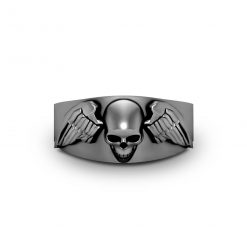 ARCHANGEL WINGS SKULL RING