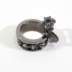 HIS AND HERS SKULL COUPLE RINGS